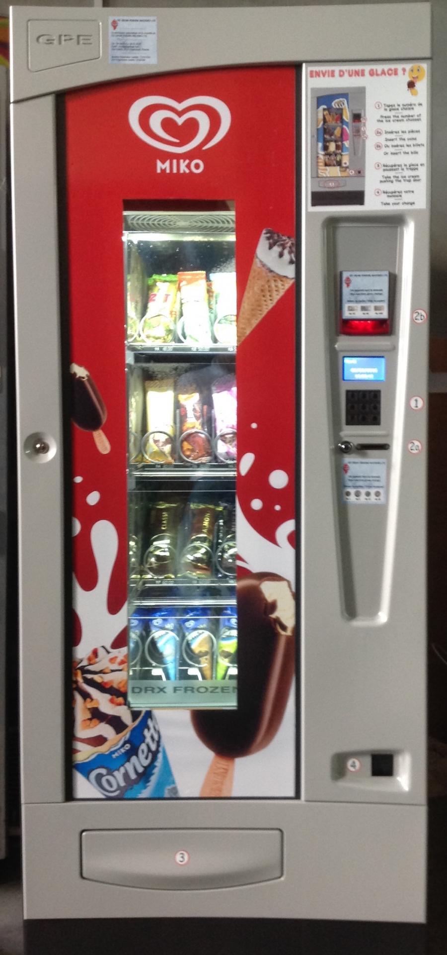 Distributeur à glaces GPE